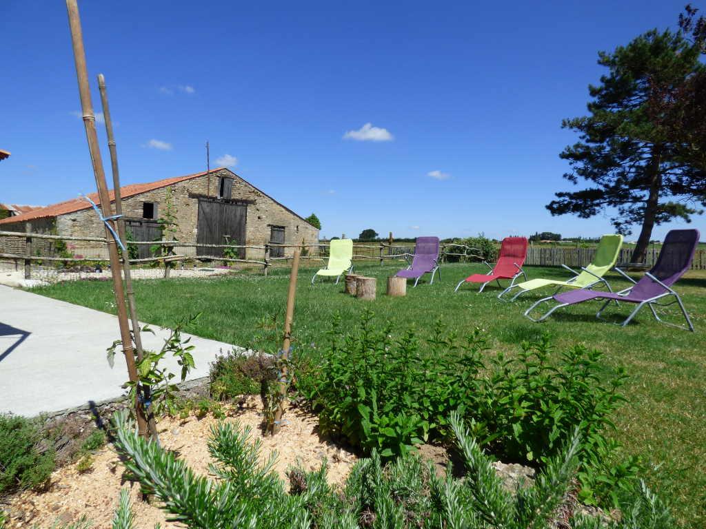 jardin gite vendée