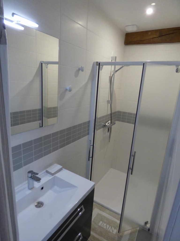 salle de douche privée